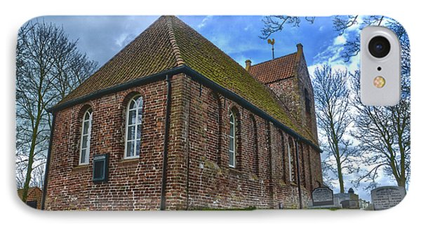 Church On The Mound Of Oostum IPhone Case by Frans Blok