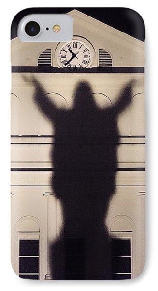 Church Shadow IPhone Case by Garry Gay
