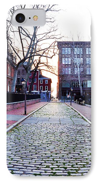 Church Street Cobblestones - Philadelphia Phone Case by Bill Cannon