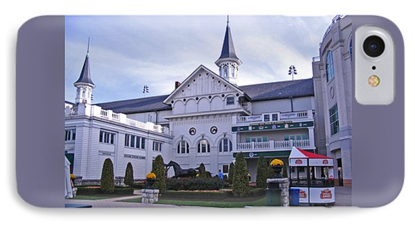 Churchill Downs Paddock Area Behind The Twin Spires IPhone Case