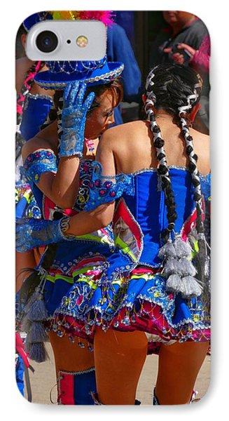 Chutillos Fiesta 24 IPhone Case by Skip Hunt