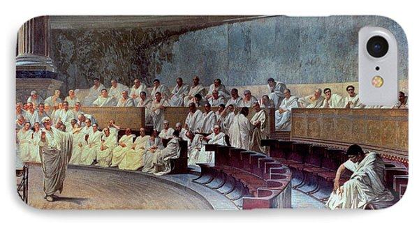 Cicero IPhone Case by Cesare Maccari
