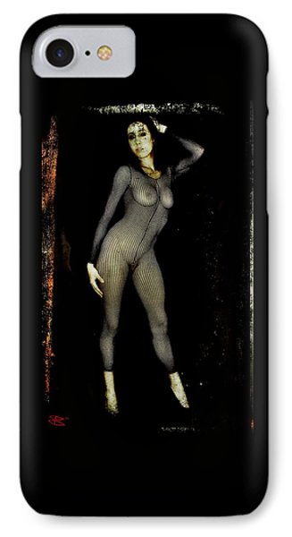 IPhone Case featuring the digital art Ciena 1 by Mark Baranowski
