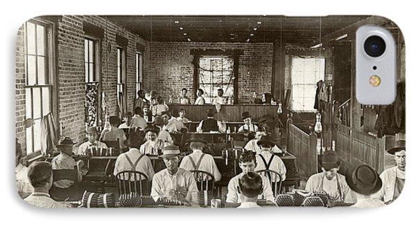 Cigar Factory, 1909 Phone Case by Granger
