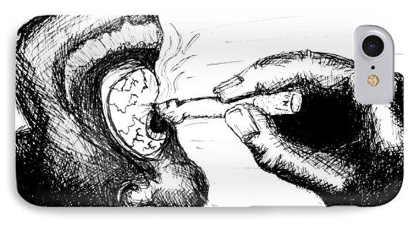 Cigarette Burn IPhone Case