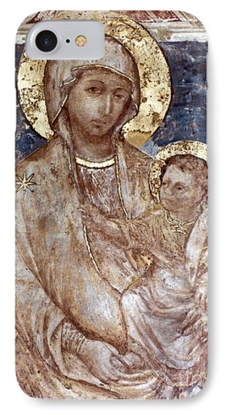 Cimabue: Madonna Phone Case by Granger