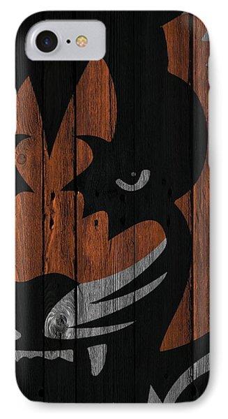 Cincinnati Bengals Wood Fence IPhone Case by Joe Hamilton
