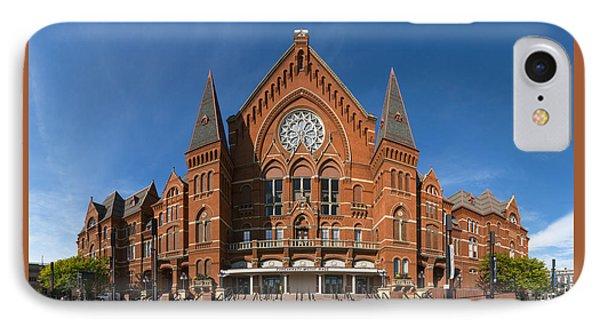 Cincinnati Music Hall IPhone Case by Rob Amend