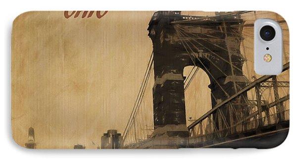 Cincinnati Ohio IPhone Case by Dan Sproul