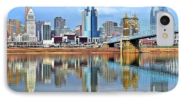 Cincinnati Ohio Times Two IPhone Case