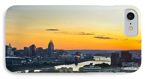 Cincinnati Sunrise II IPhone Case