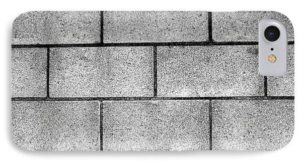 Cinder Block Wall Phone Case by Jera Sky
