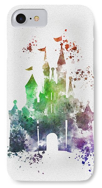 Cinderella Castle 2nd Edition IPhone Case by Rebecca Jenkins