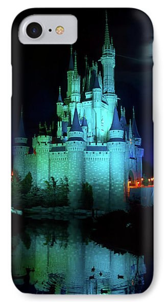 Cinderella Castle Reflection IPhone Case by Mark Andrew Thomas