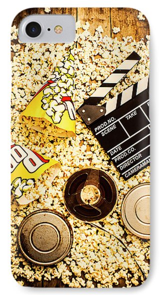 Cinema Of Entertainment IPhone Case by Jorgo Photography - Wall Art Gallery