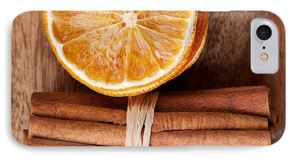 Cinnamon And Orange IPhone Case by Nailia Schwarz