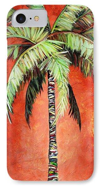 Cinnamon Palm IPhone Case by Kristen Abrahamson