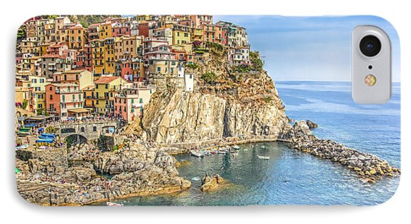 Cinque Terre IPhone Case by Brent Durken