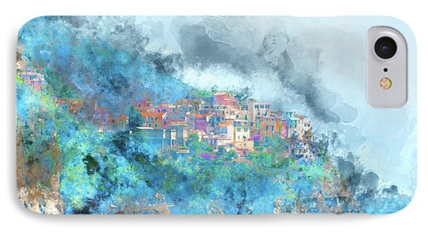Cinque Terre Buildings In Italy IPhone Case
