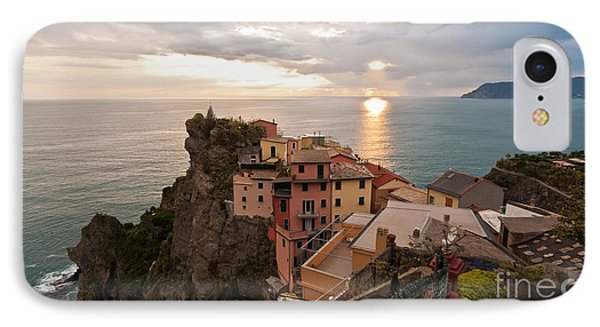 Cinque Terre Tranquility Phone Case by Mike Reid