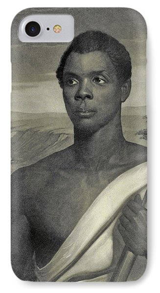 Cinque, The Chief Of The Amistad Captives IPhone Case