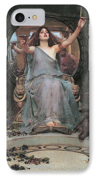 Circe Offering The Cup To Odysseus IPhone Case by John William Waterhouse