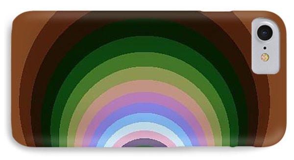 IPhone Case featuring the digital art Circle II by Dragica  Micki Fortuna