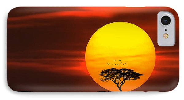 Circle Of Life IPhone Case by Bess Hamiti