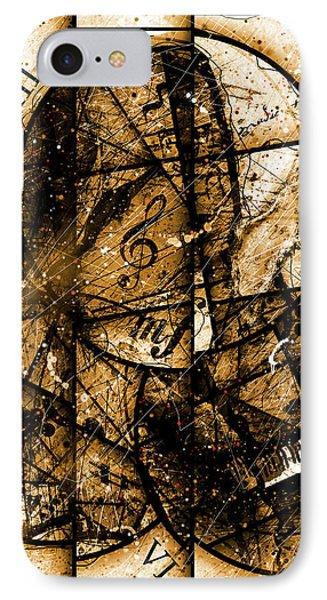 Circleladian Rhythms East IPhone Case by Gary Bodnar