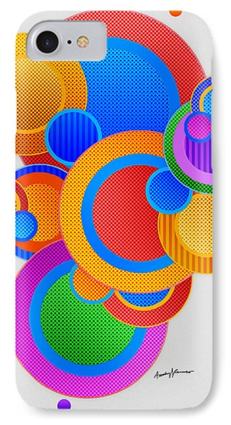 Circles Phone Case by Anthony Caruso