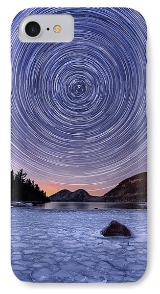 Circles Over Bubbles IPhone Case by Michael Blanchette