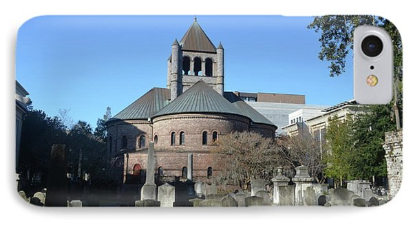 Circular Congregational Church IPhone Case by Gordon Mooneyhan
