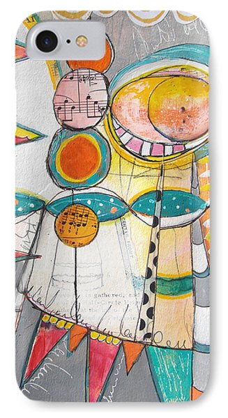 Circus One IPhone Case by Karin Husty