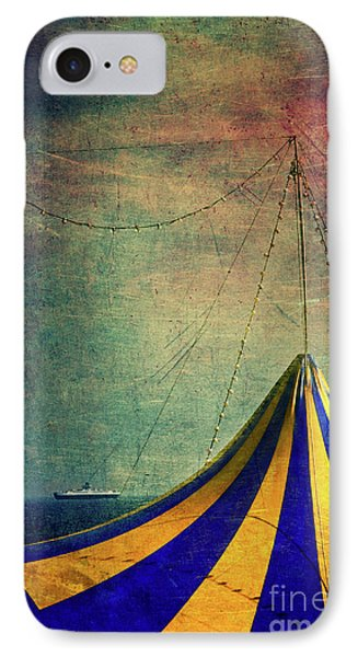 Circus With Distant Ships II IPhone Case