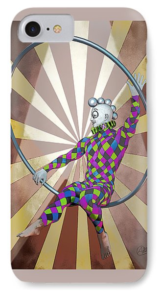 Cirque  IPhone Case by Quim Abella