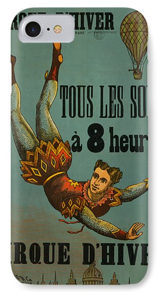Cirque D'hiver IPhone Case