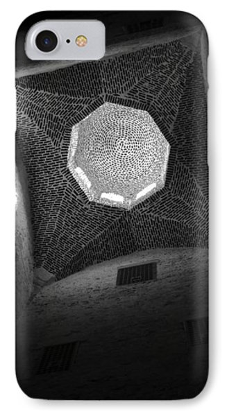 IPhone Case featuring the photograph Citadel Dome Of Alex Bw by Donna Corless
