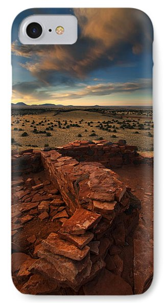 Citadel Walls IPhone Case by Mike  Dawson