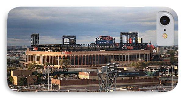 Citi Field - New York Mets Phone Case by Frank Romeo