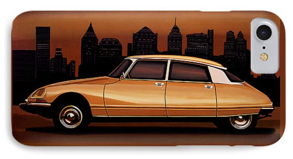 Citroen Ds 1955 Painting IPhone Case by Paul Meijering