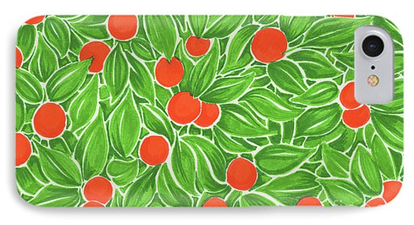 Citrus Pattern IPhone Case by Cindy Garber Iverson