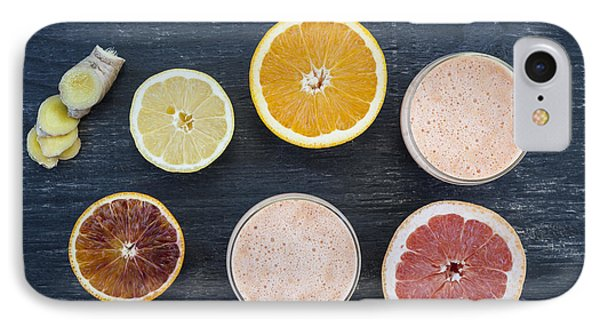 Citrus Smoothies IPhone Case by Elena Elisseeva