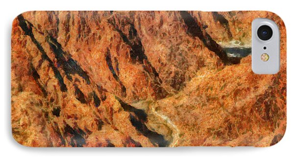 City - Arizona - Grand Canyon - A Look Into The Abyss Phone Case by Mike Savad