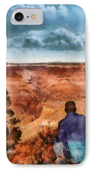 City - Arizona - Grand Canyon - The Vista Phone Case by Mike Savad