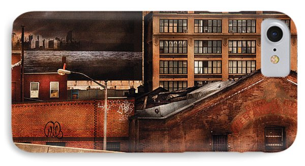 City - Ny - New York History Phone Case by Mike Savad