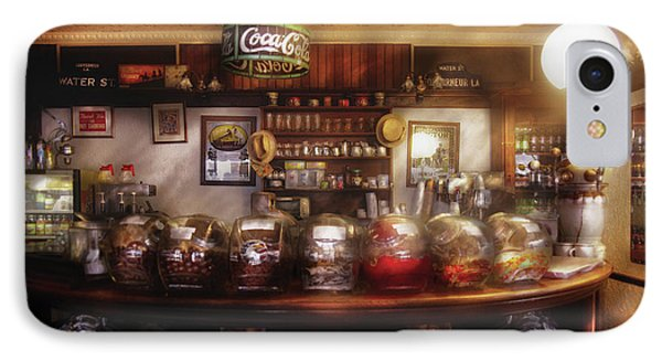 City - Ny 77 Water Street - The Candy Store Phone Case by Mike Savad