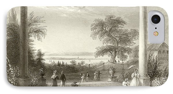 City And Lake Of Constance From The Chateau Wolfsberg IPhone Case