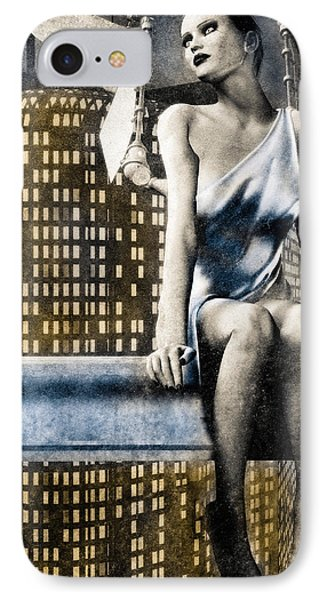 City Angel -2 Phone Case by Bob Orsillo