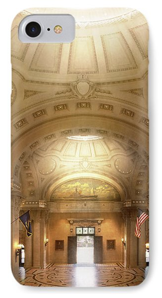 IPhone Case featuring the photograph City - Annapolis Md - Bancroft Hall by Mike Savad