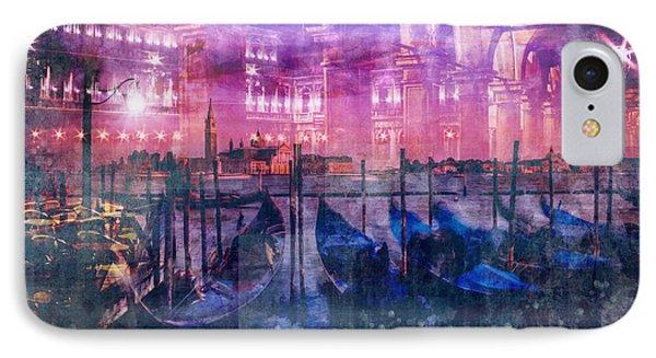 City-art Venice Composing IPhone Case